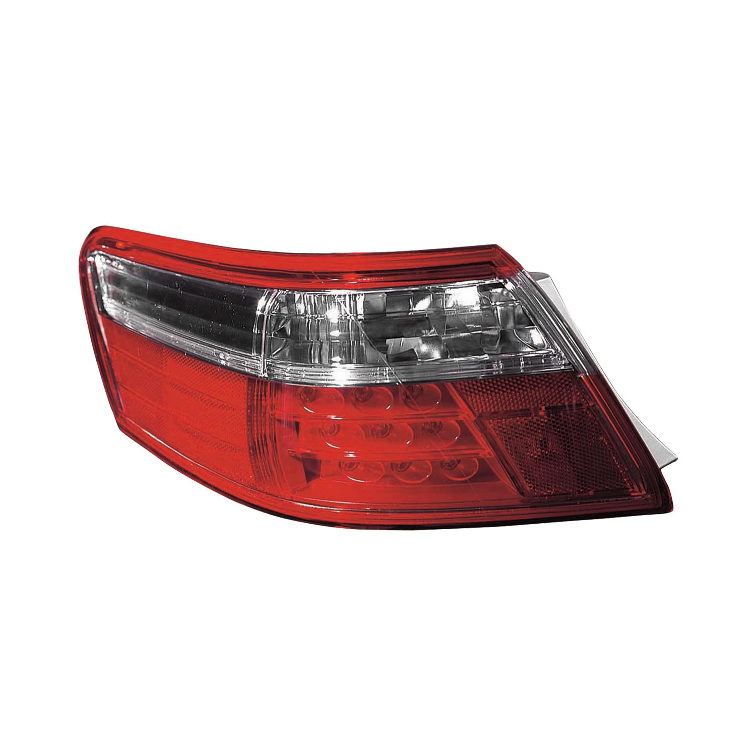 Replace toyota camry hybrid 2009 replacement tail light for Garage toyota lens