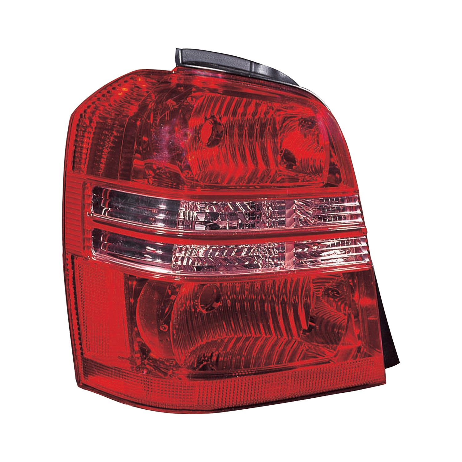 Replace toyota highlander 2002 replacement tail light for Garage toyota lens