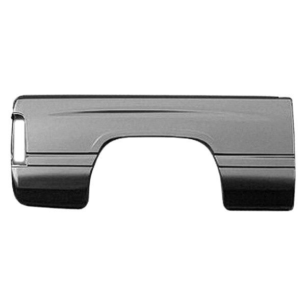 Replace Ch1757107 Passenger Side Bed Panel Skin Rear