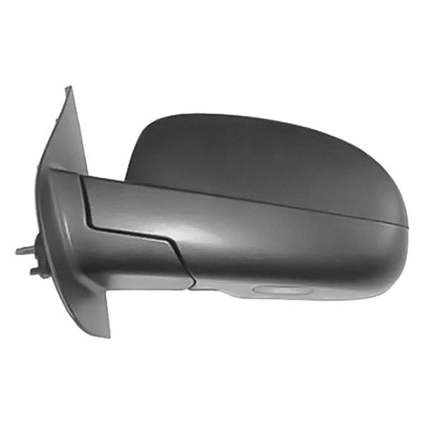 driver side view mirror manual non heated foldaway w o memory fits chevy ebay. Black Bedroom Furniture Sets. Home Design Ideas