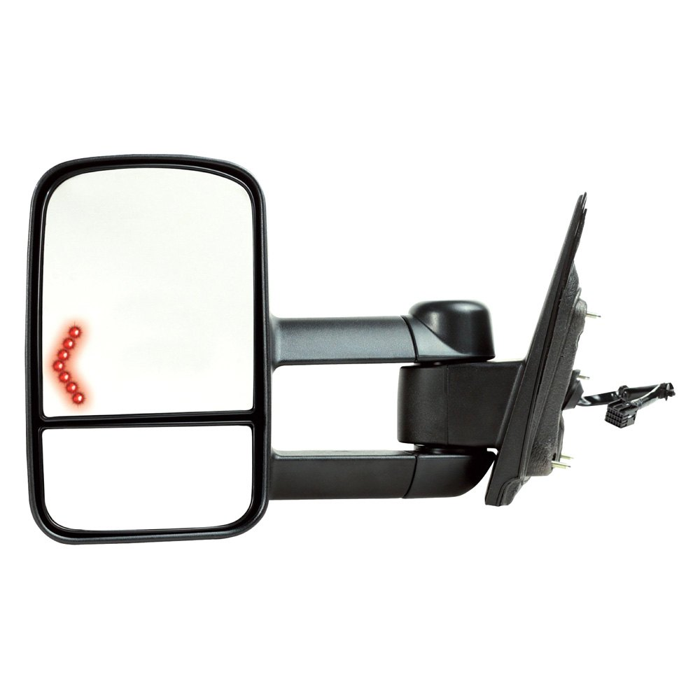 Replace gm1320458 driver side power towing mirror for Mirror replacement