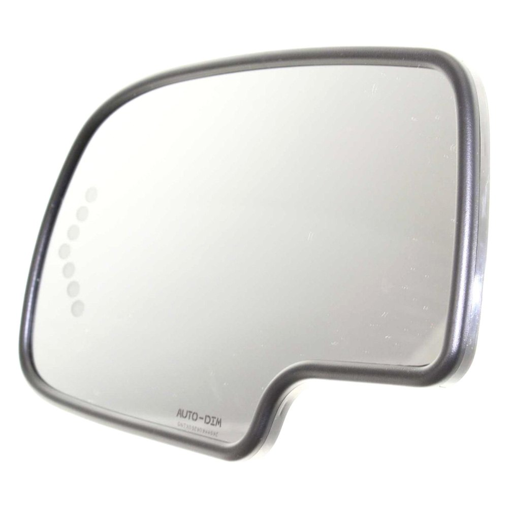 Replace gm1324102 driver side mirror glass heated for Mirror replacement