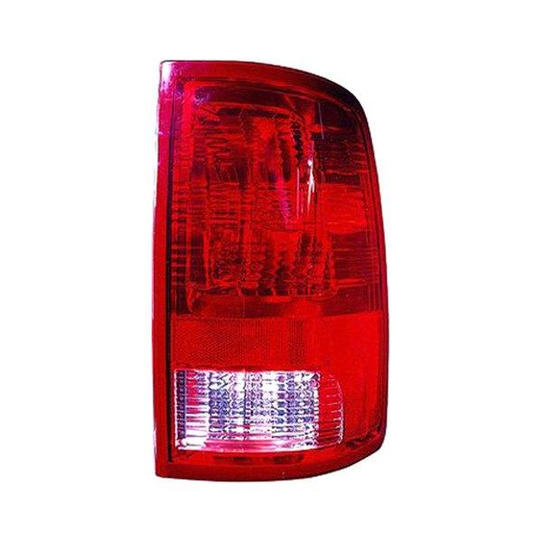 Custom Tail Light Lenses : Dodge ram custom factory tail lights carid