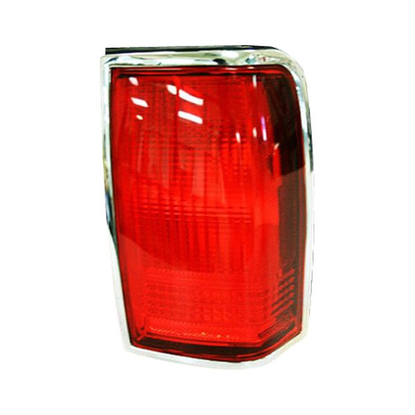 Tail Light Lens Replacement : Replace fo passenger side replacement tail light