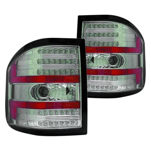 replace fo2811191 ford f 150 flareside 2005 chrome led tail lights. Black Bedroom Furniture Sets. Home Design Ideas