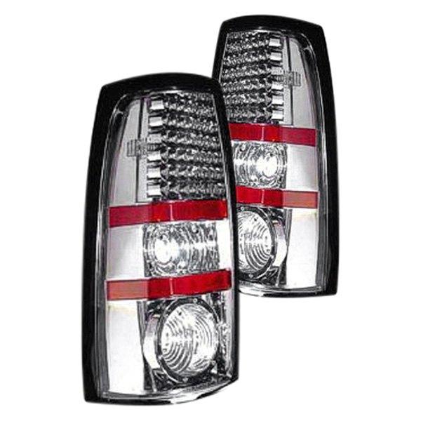 replace gmc sierra 2005 2006 gunmetal led tail lights. Black Bedroom Furniture Sets. Home Design Ideas