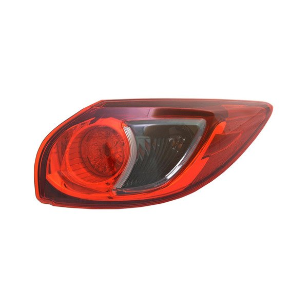 Mazda CX-5 With Factory Halogen Tail Lights