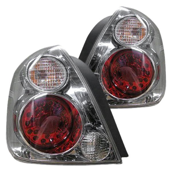 Replace Ni2811145 Nissan Altima 2006 Chrome Red Gm Type Led Tail Lights