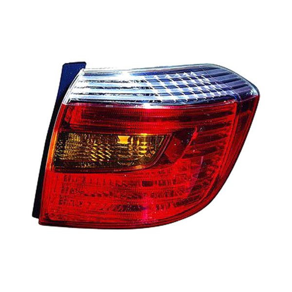 Replace toyota highlander 2009 replacement tail light for Garage toyota lens