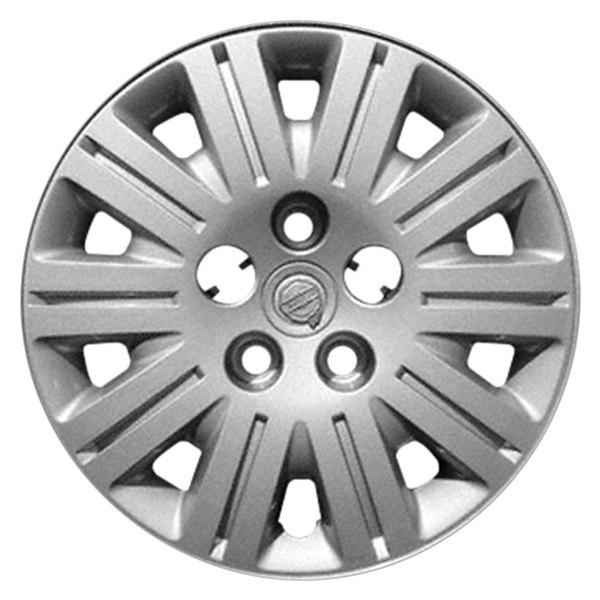 "2005 Chrysler Town Country: 15"" 10 Spokes Silver Wheel Cover"