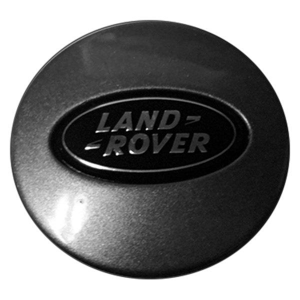 Land Rover Logo Cap: Charcoal Metallic Wheel Center Cap