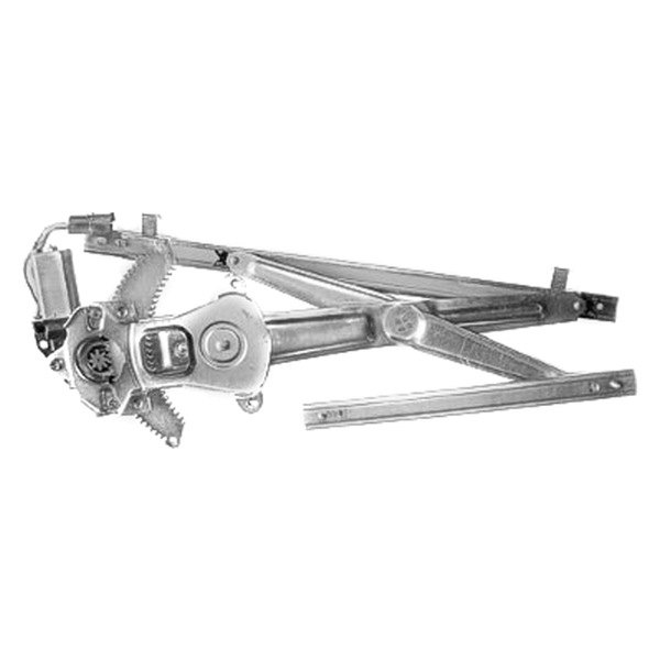 Replace Ford Windstar 1995 1997 Front Power Window Regulator With Motor