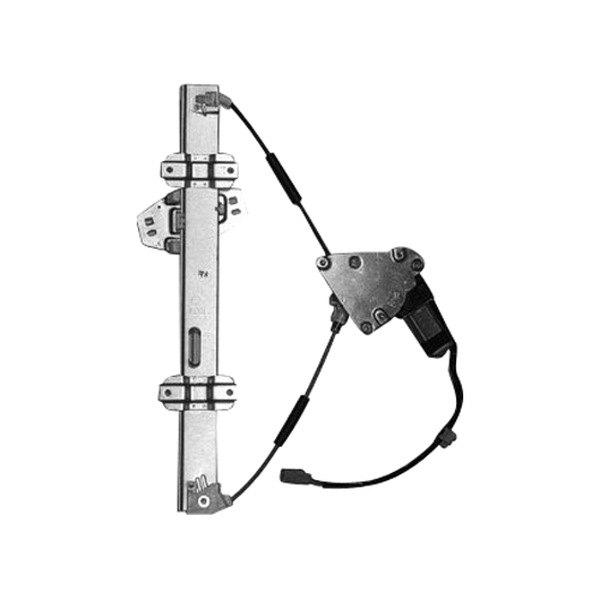 Replace honda civic 1997 2000 window regulator with motor for 1998 honda civic manual window regulator
