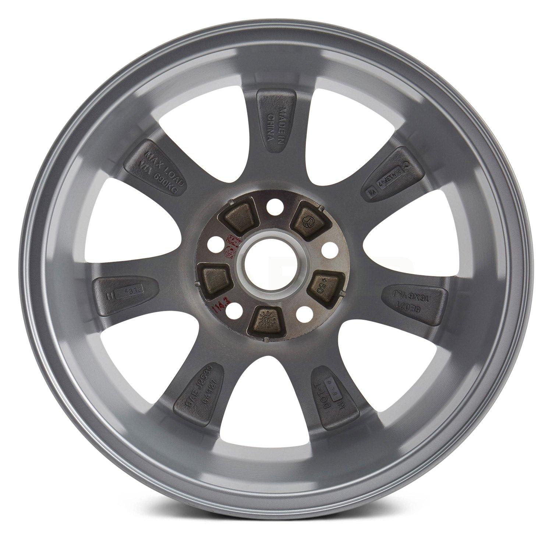 For Sale 2008 Mazdaspeed 3 Wheels: For Mazda 3 2010-2011 Replikaz 16x6.5 7-Spoke Silver Alloy Factory Wheel Replica
