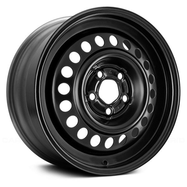 replikaz chevy cavalier 2002 black 15x6 steel factory wheel replikaz black 15x6 steel factory wheel