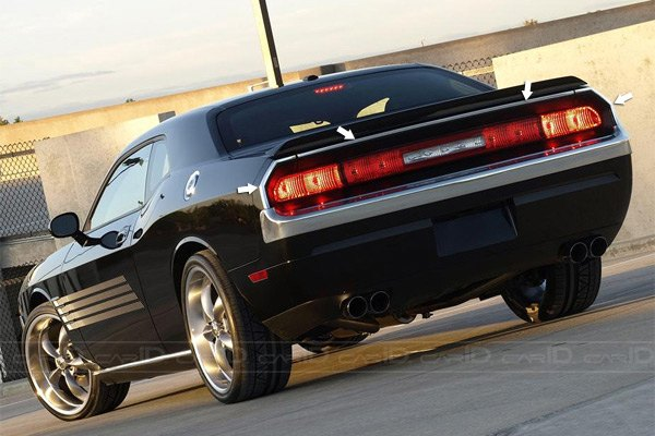 2008 Dodge Challenger Chrome Accessories Trim At