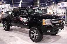Revtek® - Suspension Lift System on Chevy Silverado