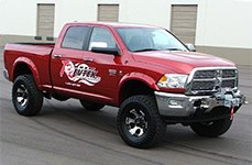 Revtek® - Suspension Lift System on Dodge Ram
