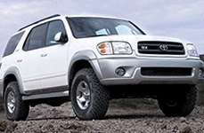 Revtek® - Suspension Lift System on Toyota Sequoia