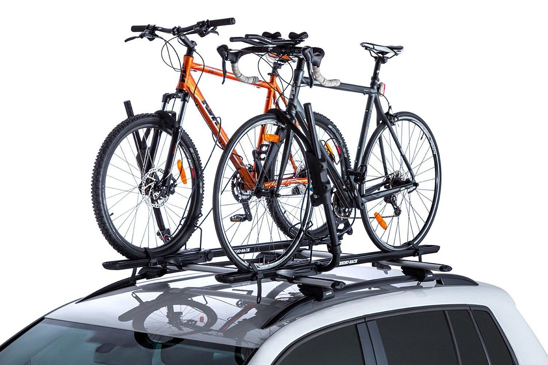 rhino rack jeep grand cherokee 2005 hybrid roof mount bike rack. Black Bedroom Furniture Sets. Home Design Ideas