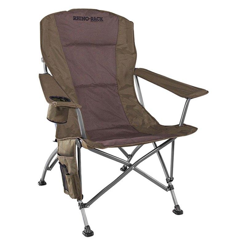 rhino rack high back camping chair ebay