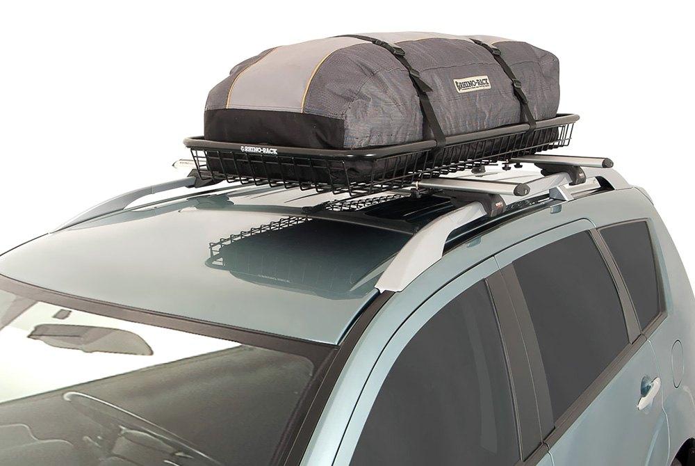 rhino rack volkswagen tiguan 2017 steel mesh basket. Black Bedroom Furniture Sets. Home Design Ideas