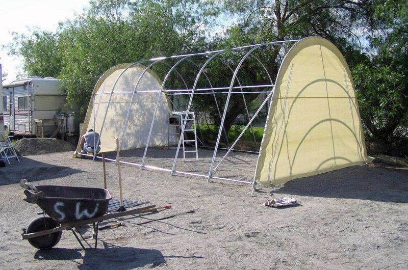 Rhino Shelter® - Instant Garage House
