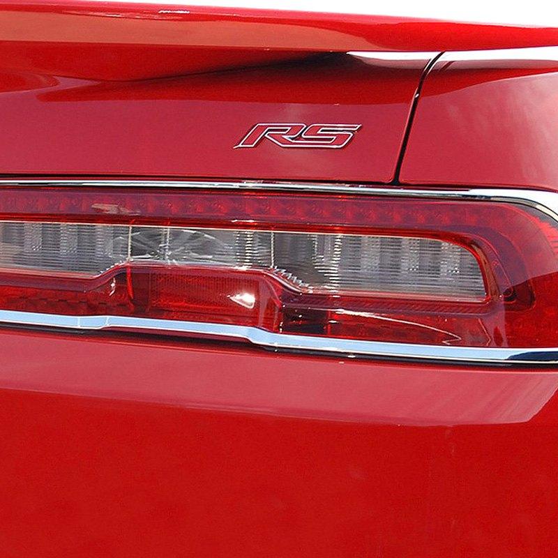 Ri 26 Chcam14 Chevy Camaro 2014 Chrome Tail Light Bezels