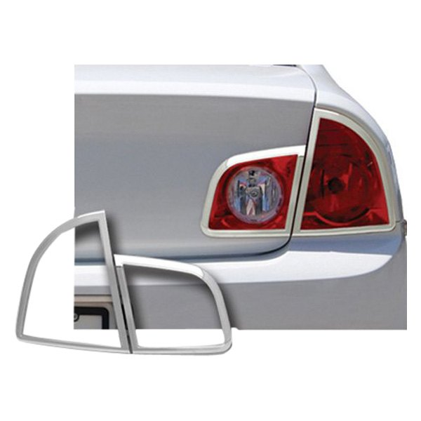 Chevy Malibu 2008 Chrome Tail Light Bezels