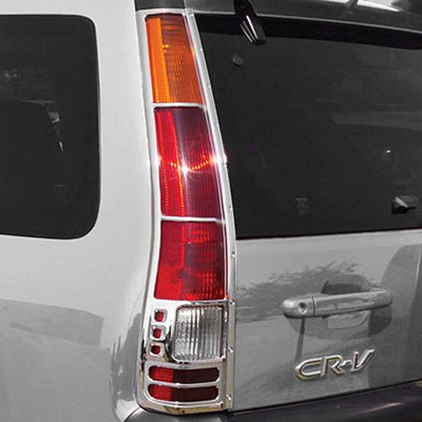 Honda Dealers In Ri: Honda CR-V 2002 Chrome Tail Light Bezels