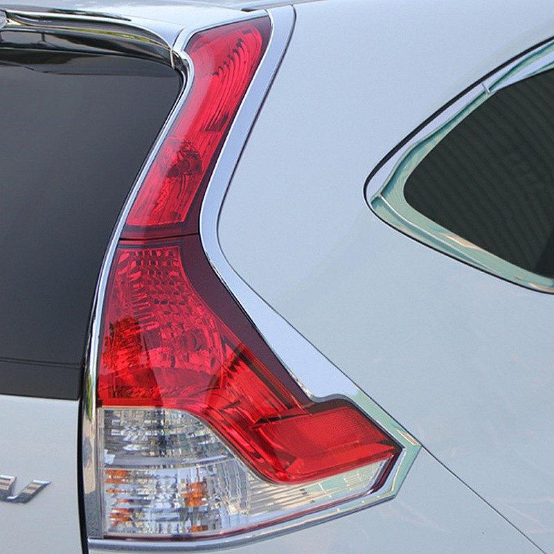 Honda Dealers In Ri: Honda CR-V 2013 Chrome Tail Light Bezels