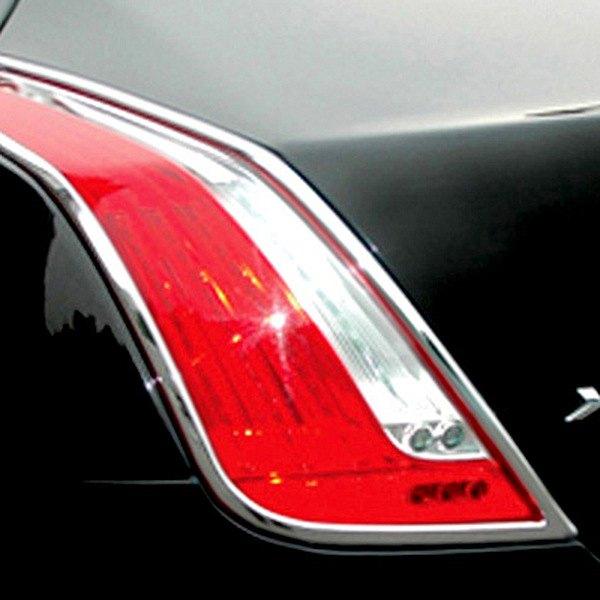 Ri 174 26 Jaxj10 Jaguar Xj Type 2011 Chrome Tail Light Bezels