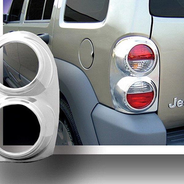 2002 Jeep Liberty Exterior: Jeep Liberty 2002 Chrome Tail Light Bezels