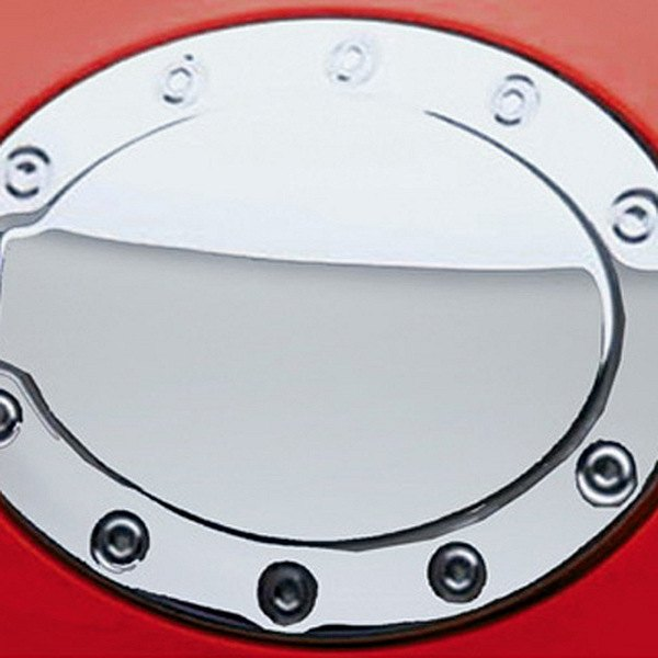 Ri chcor polished stainless steel gas cap cover