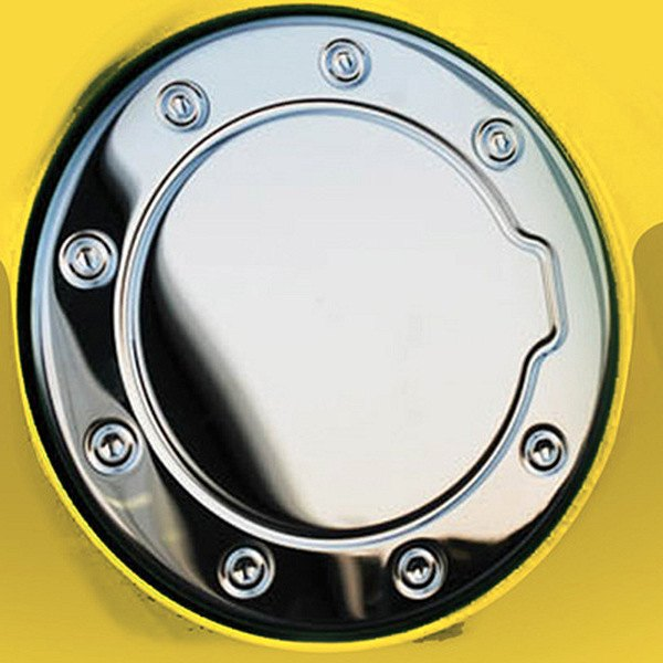 Ri chcam polished stainless steel gas cap cover ebay