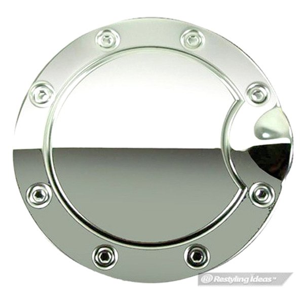 Ri fof polished stainless steel gas cap cover