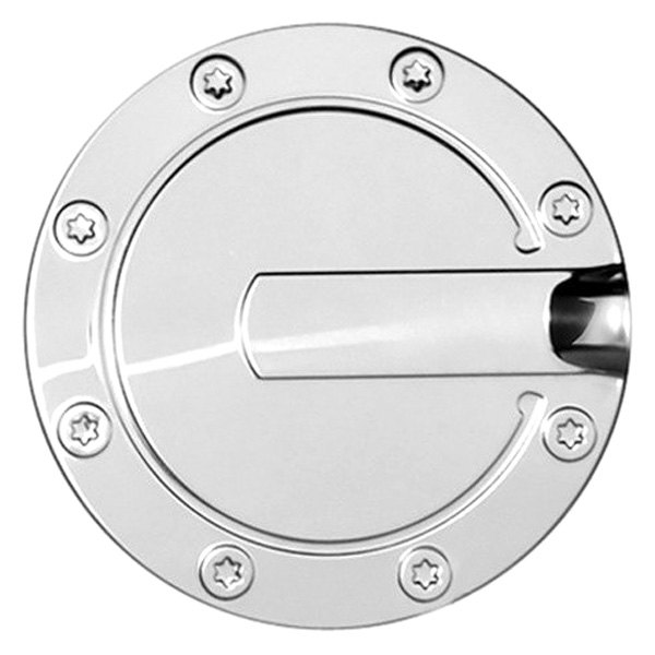 Fofus ri polished stainless steel gas cap cover ebay