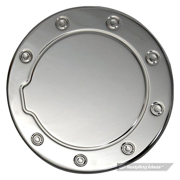 Ri totun polished stainless steel gas cap cover