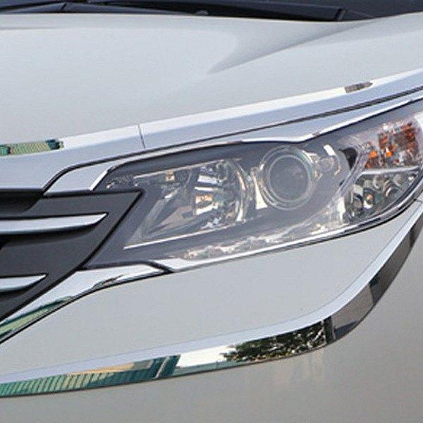 Honda CR-V 2013 Chrome Headlight Bezels