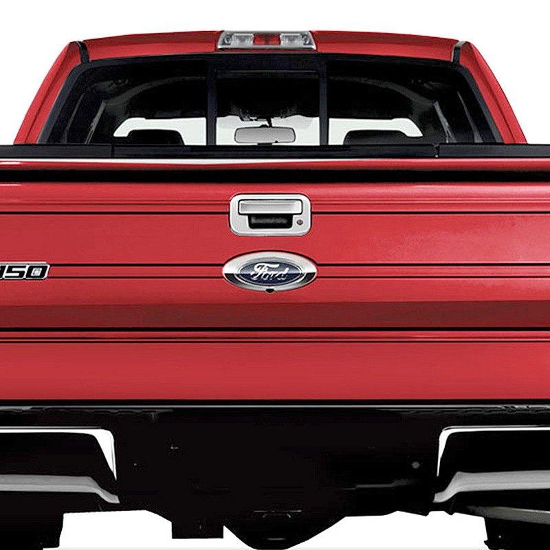 Ri ford f 150 2013 chrome tailgate handle cover - 2013 ford f 150 interior accessories ...