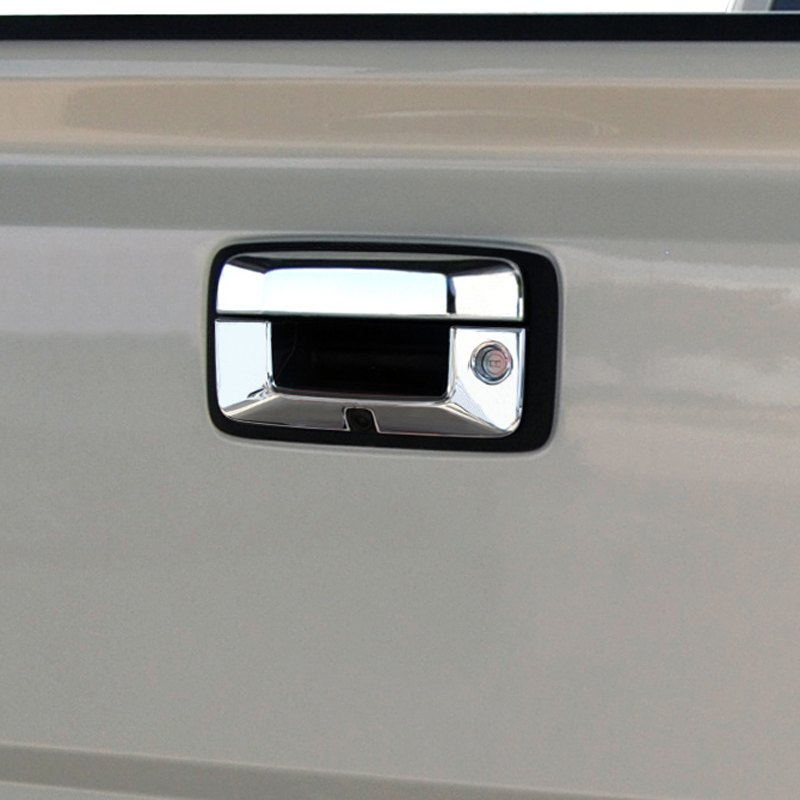 Ri gmc sierra 2015 chrome tailgate handle cover - 2015 gmc sierra interior accessories ...