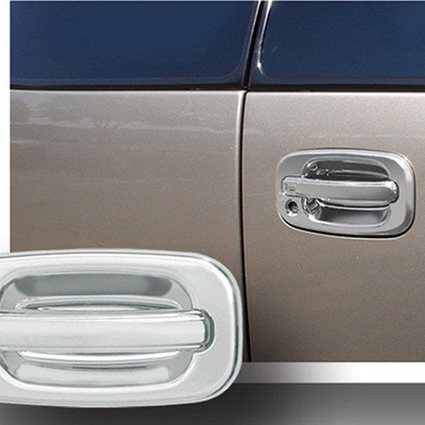 Chevy Sonora / Tahoe 2000 Chrome Rear Door Handle Cover