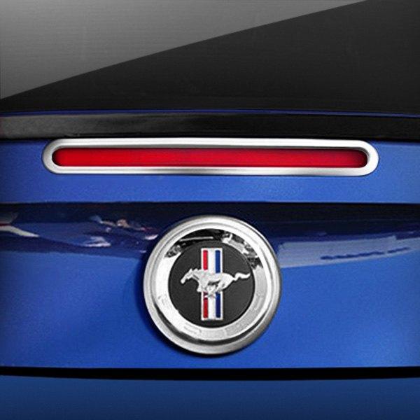 Third Brake Light Covers : Ri fomus polished rd brake light cover