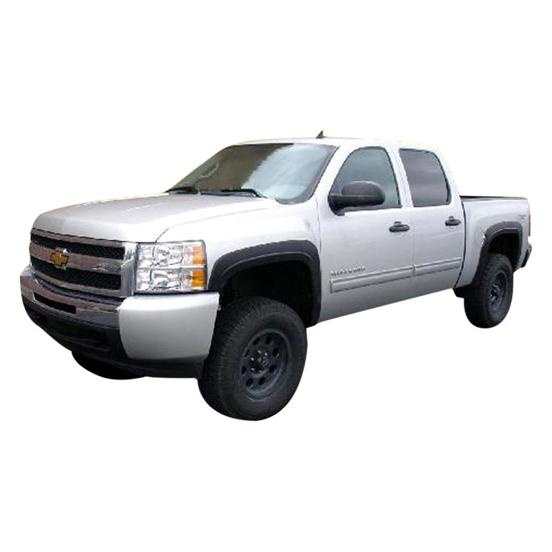 ri chevy silverado new body style 2007 factory style front and rear fender flares. Black Bedroom Furniture Sets. Home Design Ideas