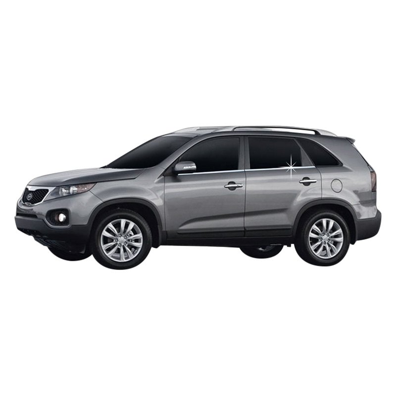 2011 Kia Sorento Accessories: Kia Sorento 2011 Chrome Window Moldings