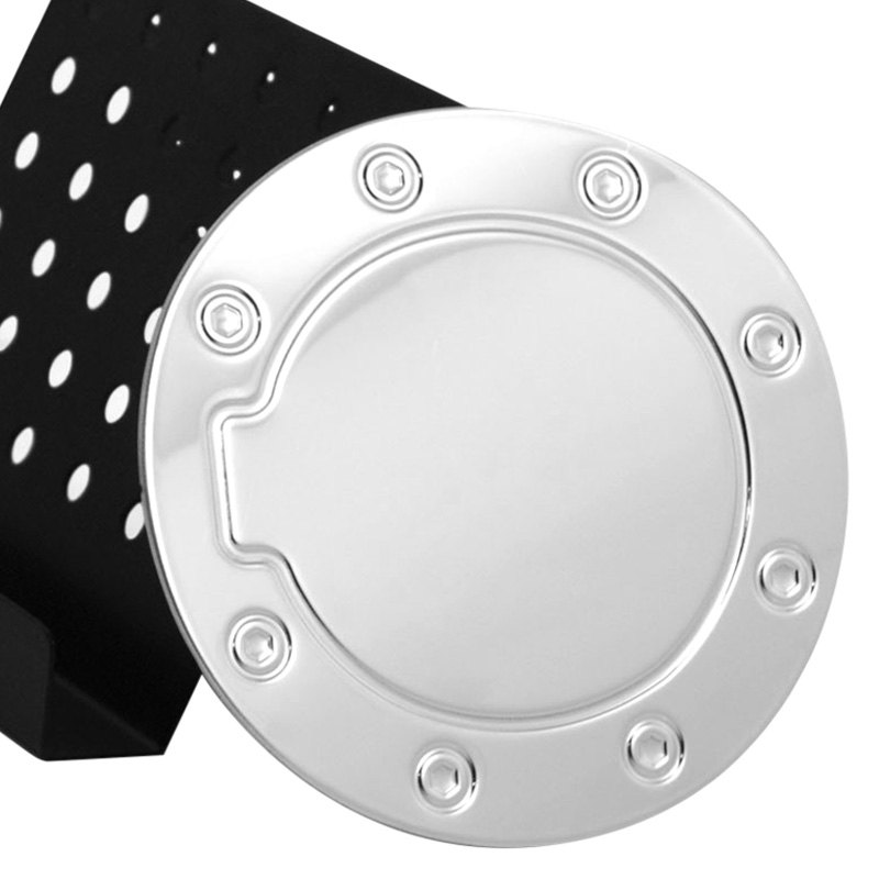 Ri chvol r polished stainless steel gas cap cover