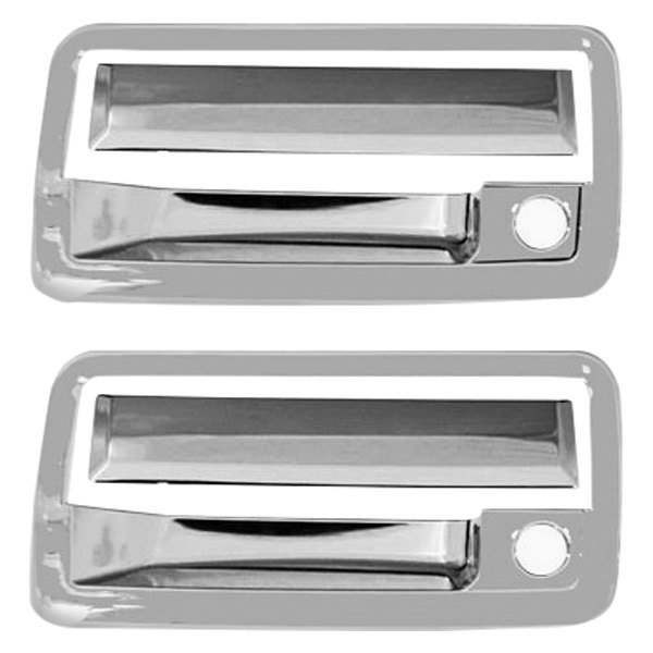 Ri Chevy Blazer 2002 Chrome Abs Plastic Door Handle Covers