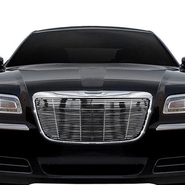 Chrysler 300 2011-2013 2-Pc Chrome Billet Grille