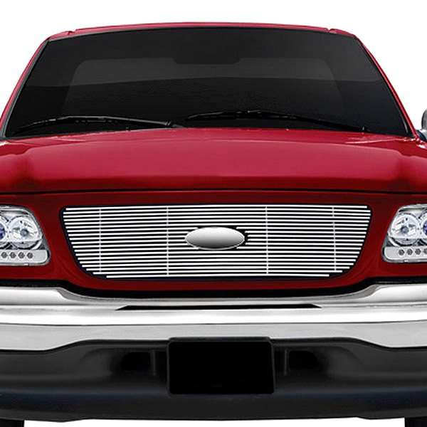 Ri ford f 150 1999 1 pc chrome billet grille for Ford f 150 exterior accessories