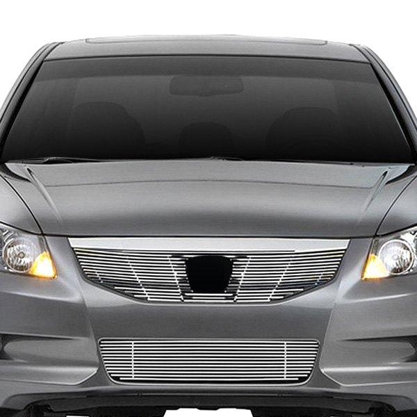 Honda Accord 2011 2-Pc Chrome Billet Grille